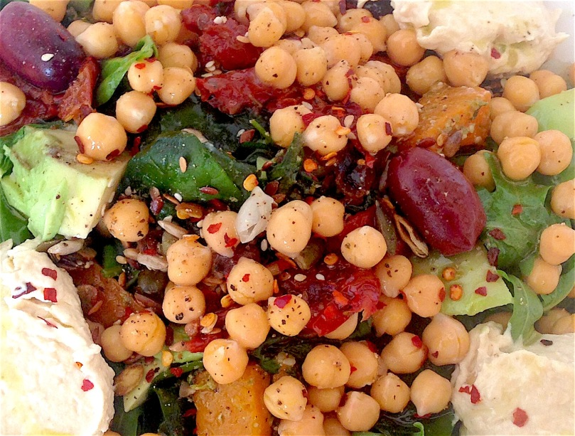 Adding beans to salads can help to lower your cholesterol