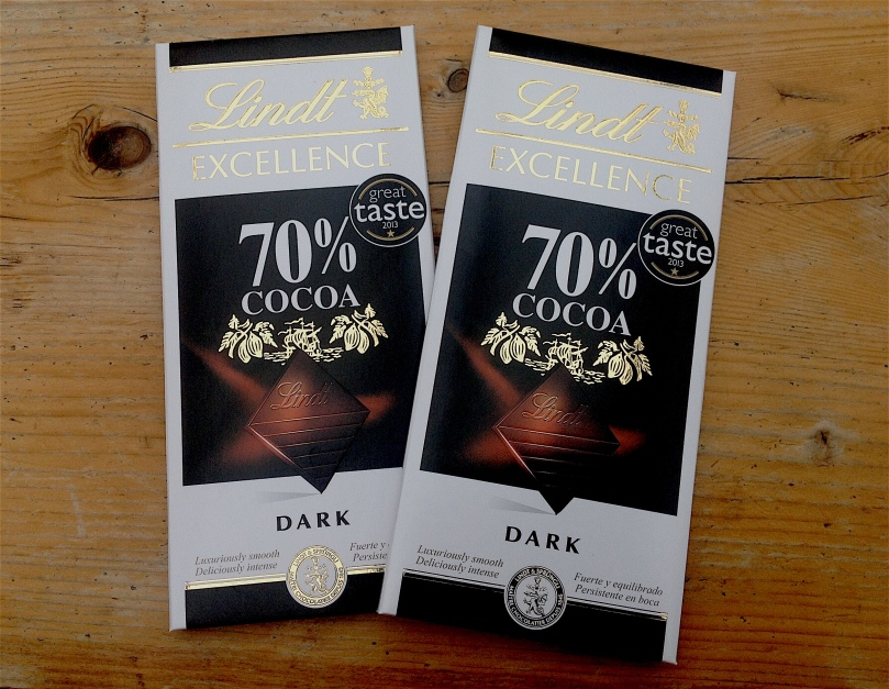 Lindt 70% chocolate cholesterol reducing